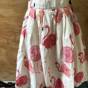 Chic wish flamingo skirt